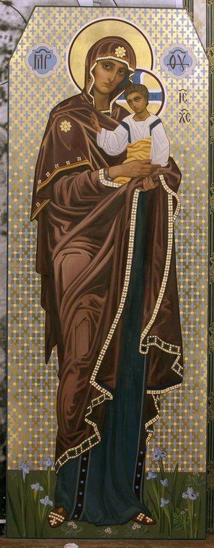 Морской кафедральный собор в Кронштадте. Богоматерь. 2012