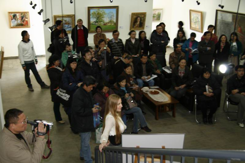2009 г. «Прикосновения миг», Галерея живописи XX века, г. Пекин, Китай