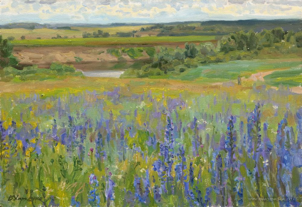 The lilac meadow