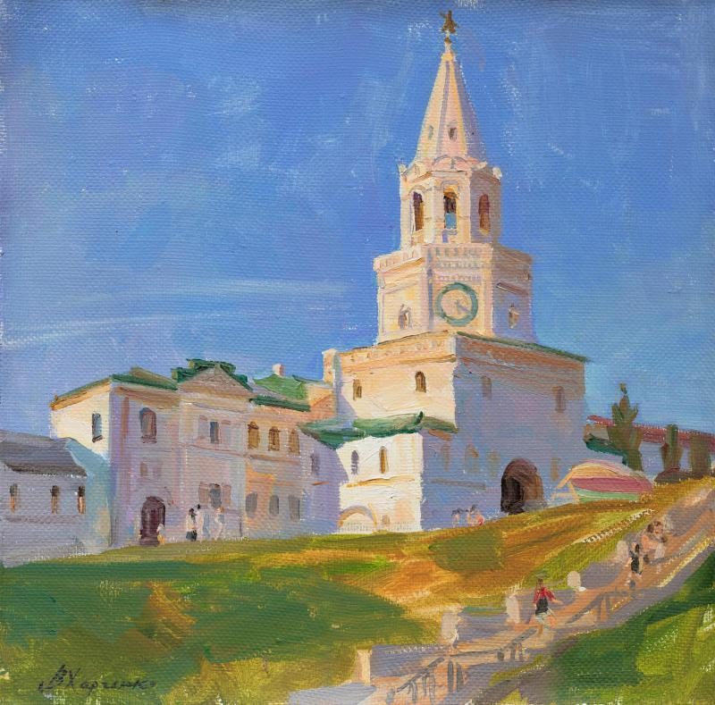 The Spassky Tower of the Kazan Kremlin
