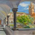 Colonnade in San Domenico