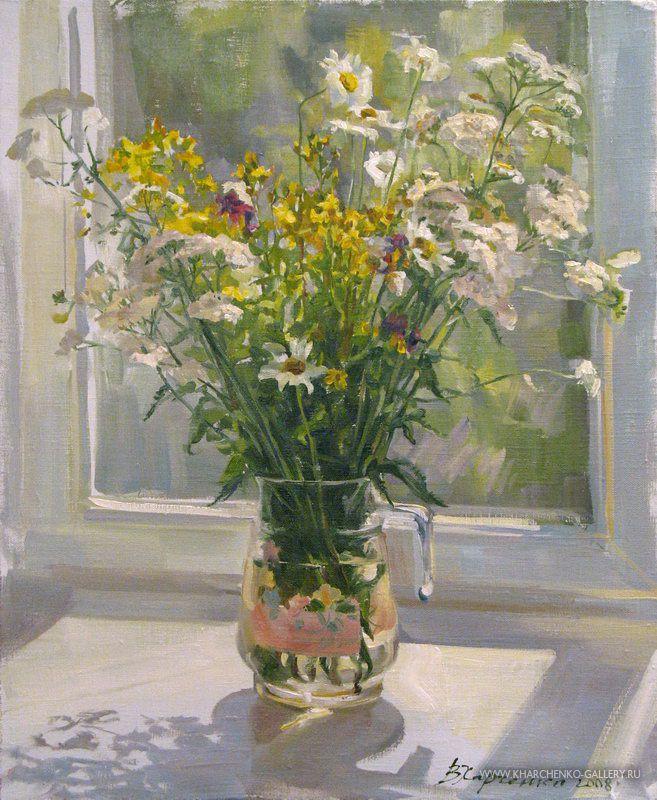 Июльские цветы
