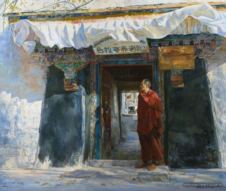 Wind in the Sera monastery