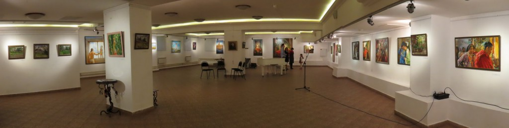 Personal Exhibition of Victoria Kharchenko 2016