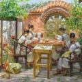 Вышивальщицы в провинции Сычуань