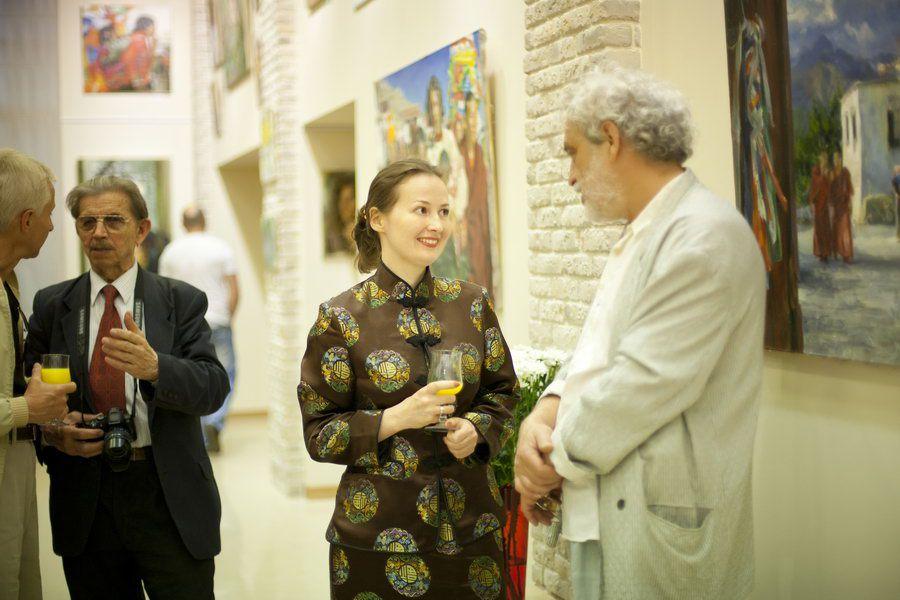 """2011 г. «С Запада на Восток», галерея """"Небо"""", г. Киев, Украина."""