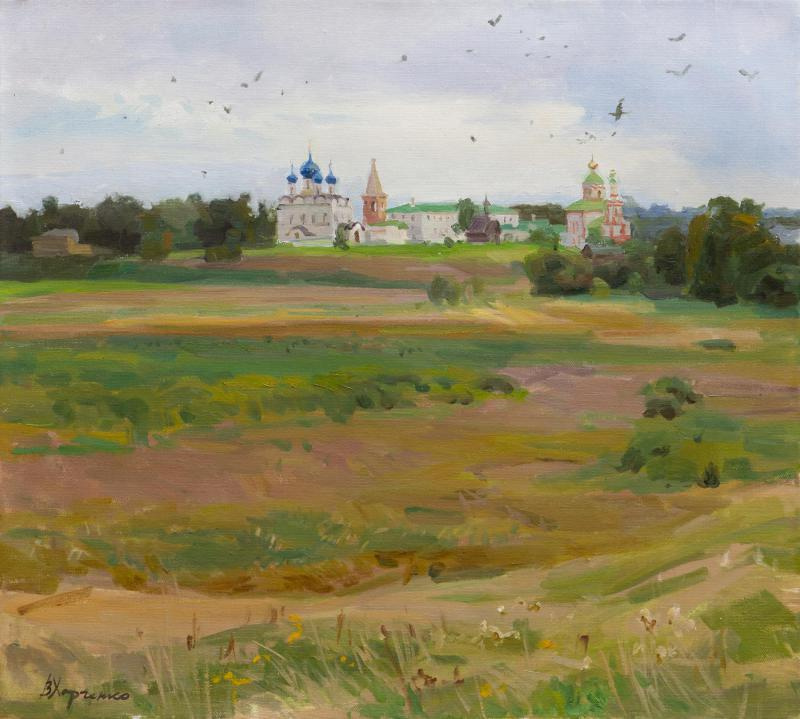 Ilyinsky meadow. Suzdal