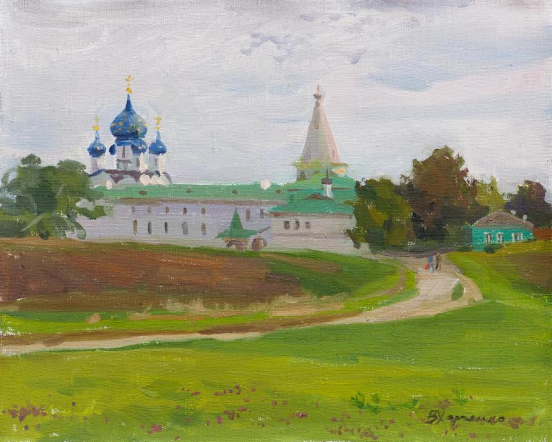 Kremlin walls in Suzdal