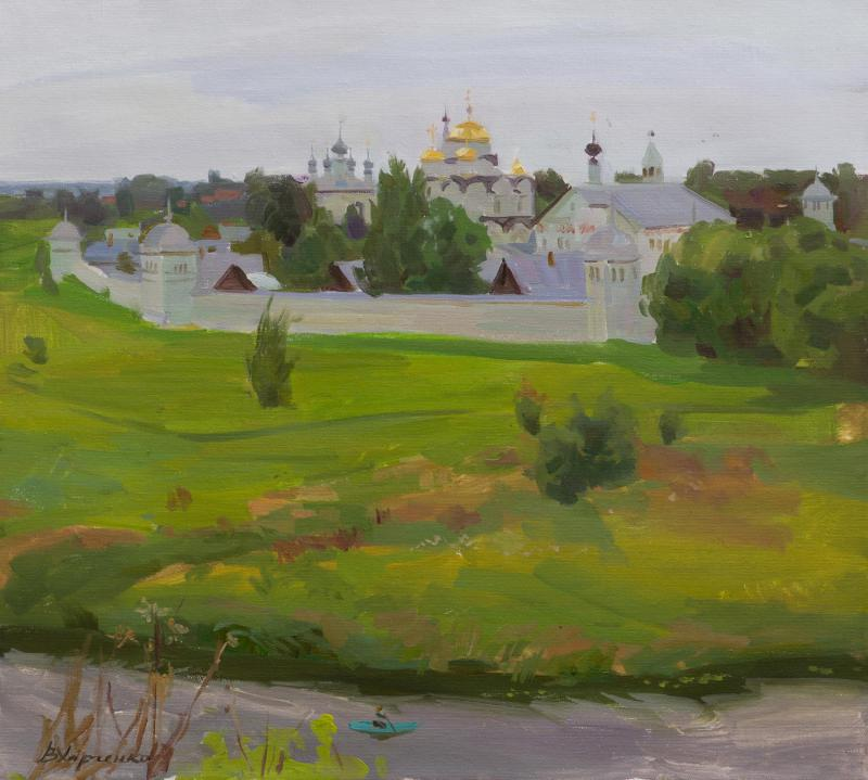 Pokrovsky monastery in the city of Suzdal
