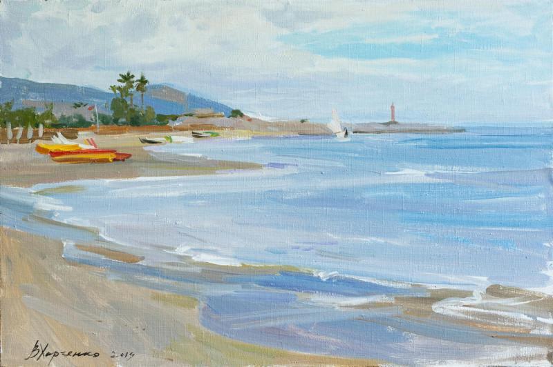 Taggia. Victoria Beach