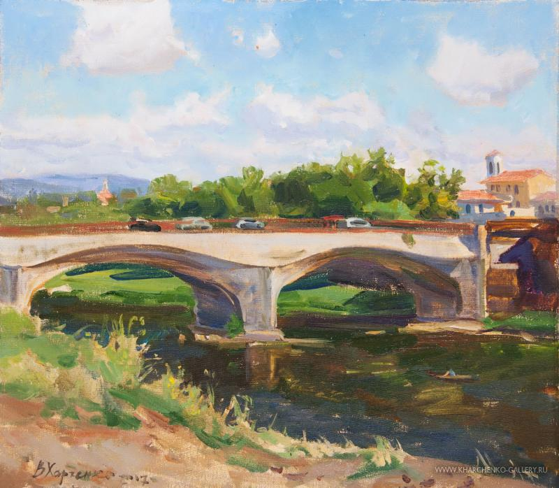 The bridge over Arno