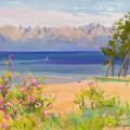 Blooming coast