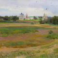 Ilyinsky meadow. Suzdal