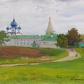 Kremlin walls in Suzdal