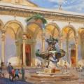 Полдень на площади св. Аннунциаты