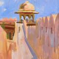 Розовый форт