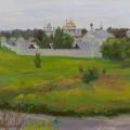 Pokrovsky monastery in the city of Suzdal