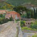 Roman bridge in Taggia